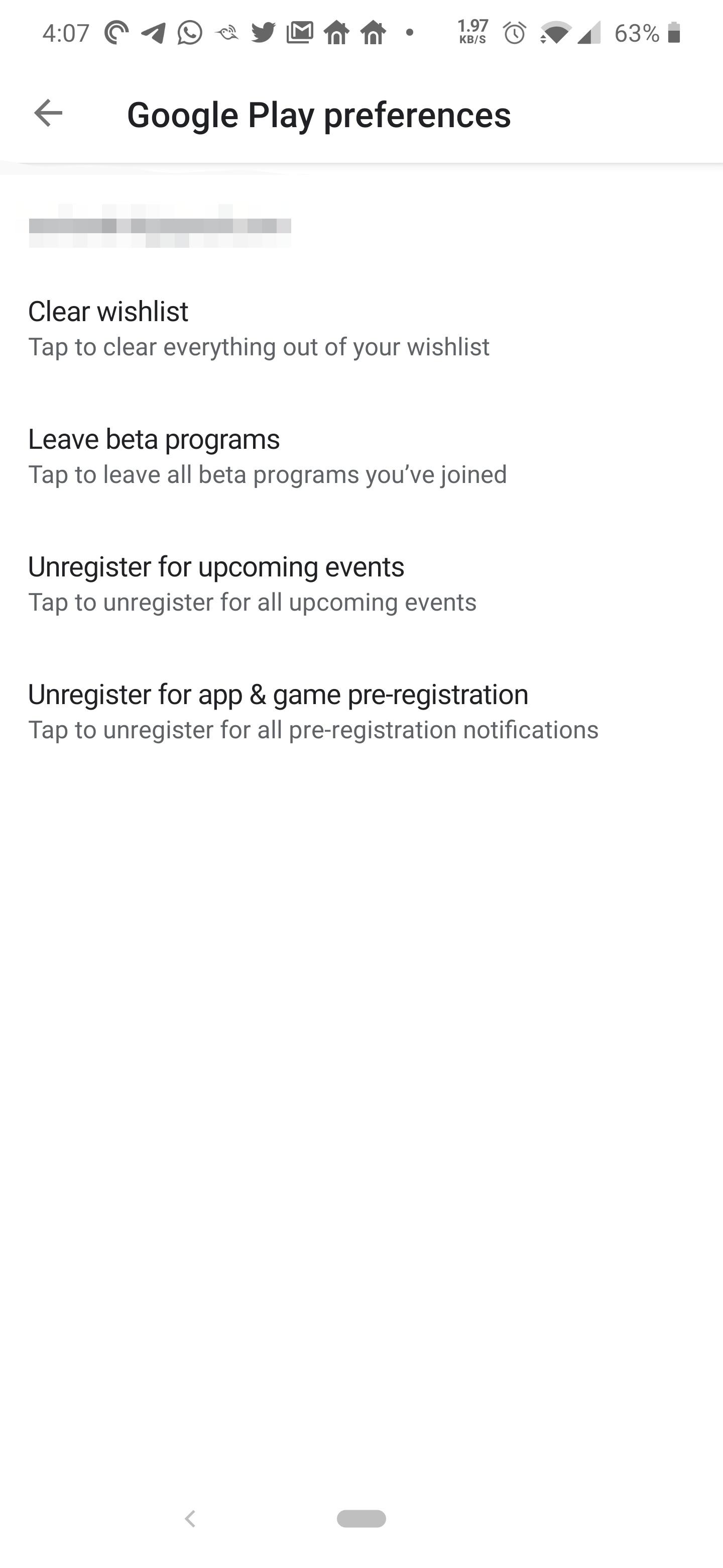 متجر جوجل بلاي يضم الآن خيار لترك جميع برامج بيتا وإلغاء التسجيل المسبق بنقرة واحدة