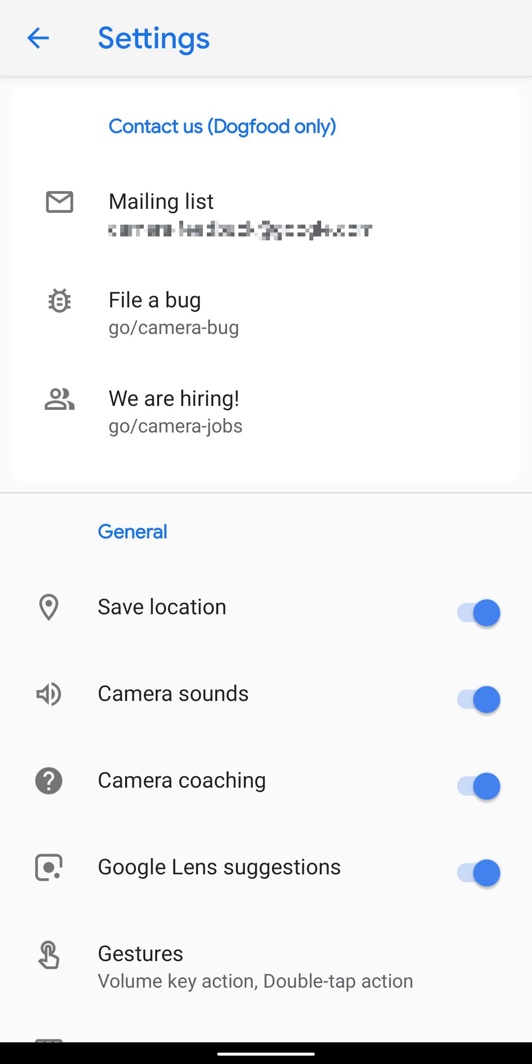 تسريب تطبيق الكاميرا لهاتف جوجل بيكسل 4 المُنتظر - Pixek 4