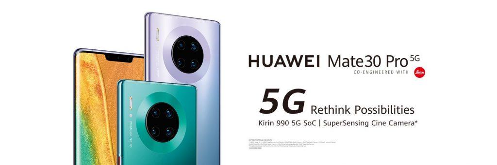 هواوي تكشف عن ثلاثة هواتف من سلسلة Mate 30 رسميًا