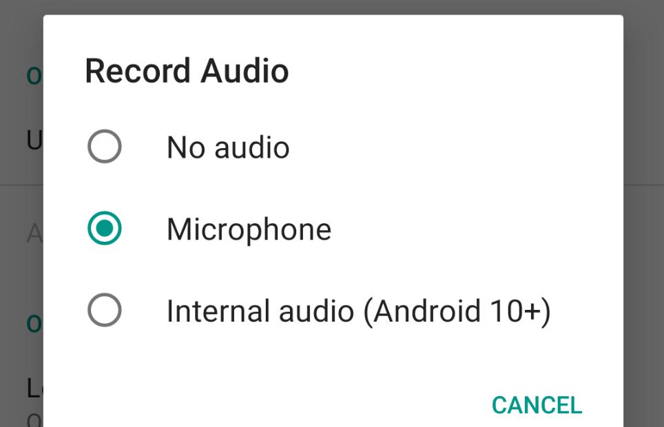 تطبيق ADV Screen Recorder يُضيف الدعم لالتقاط الصوت الداخلي على أندرويد 10