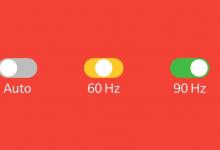 تطبيق Auto90 يُتيح لحملة هواتف ون بلس 7 برو التحويل من 60 إلى 90 هيرتز والعكس