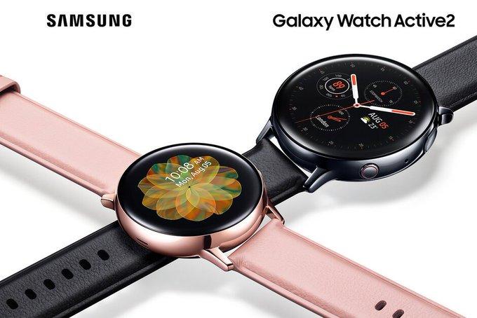 سامسونج ستطلق ساعة Galaxy Watch Active 2 بدون أهم ميزتين - عالم التقنية