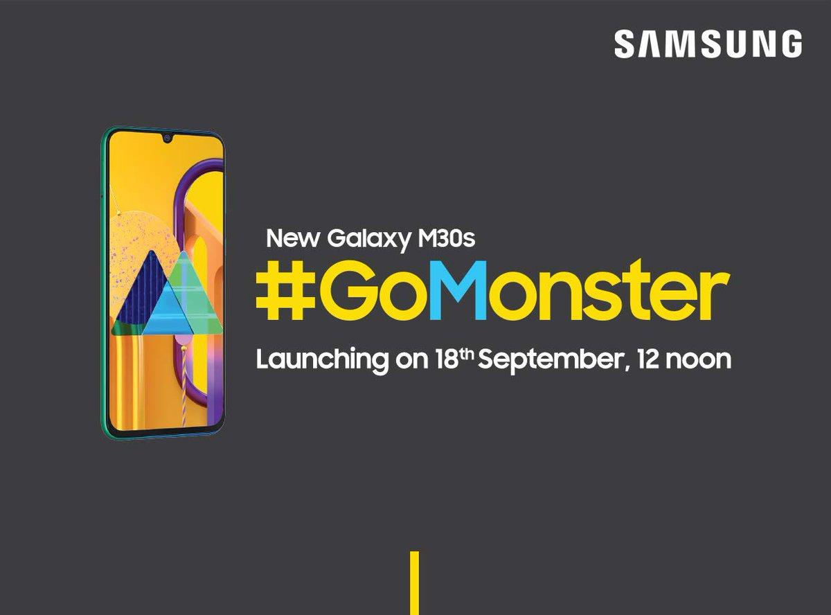 سامسونج ستكشف عن هاتف Galaxy M30s ببطارية 6000mAh خلال شهر سبتمبر