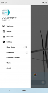 GCA Launcher: أحد اللانشرات الجديدة على متجر جوجل بلاي