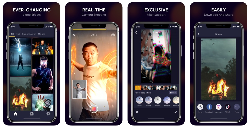 Magi + تطبيق جديد يتيح لك إنشاء مقاطع فيديو ذات تأثيرات بصرية مذهلة