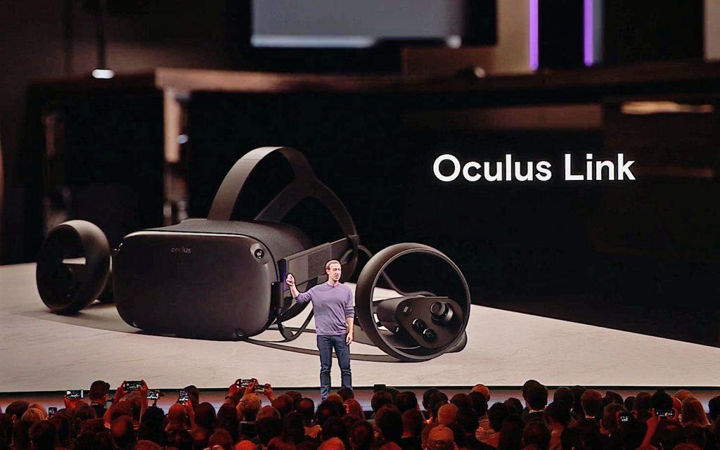 فيس بوك تعلن عن Oculus Link وتؤكد التحكم بنظارات الواقع مستقبلًا باليدين فقط