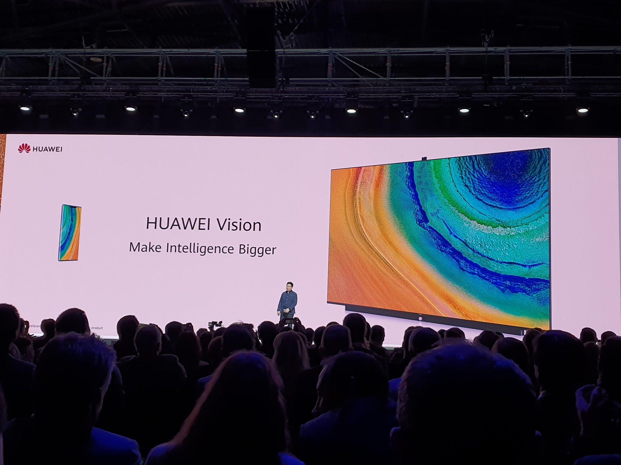 هواوي تكشف عن Vision TV بدعم دقة 4K والعديد من المهام الذكية