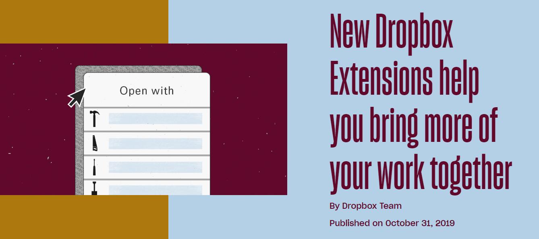 دروب بوكس تدعم 13 إضافة جديدة منها ما هو خاص بجيميل وواتساب وأكثر