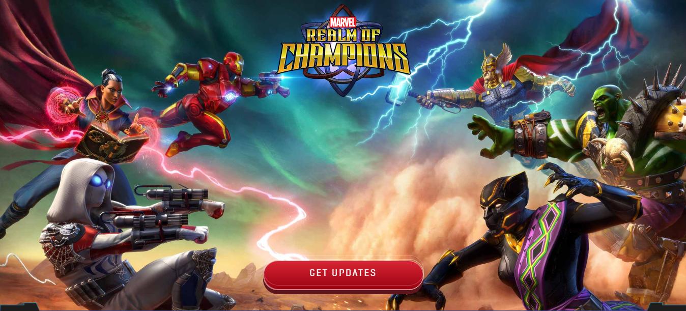 لعبة Marvel Realm of Champions ستكون حاضرة على أندرويد و iOS العام القادم