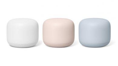 مؤتمر جوجل: مكبر صوتي Nest WiFi