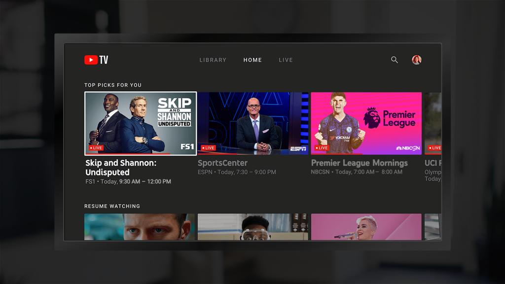 خدمة يوتيوب YouTube TV أصبحت متاحة على أجهزة Fire TV من أمازون