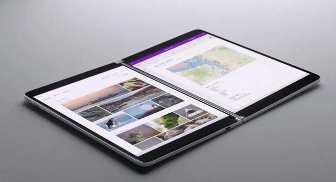 مايكروسوفت تكشف جهاز Surface Neo بشاشة مزدوجة ومعالج إنتل Lakefield