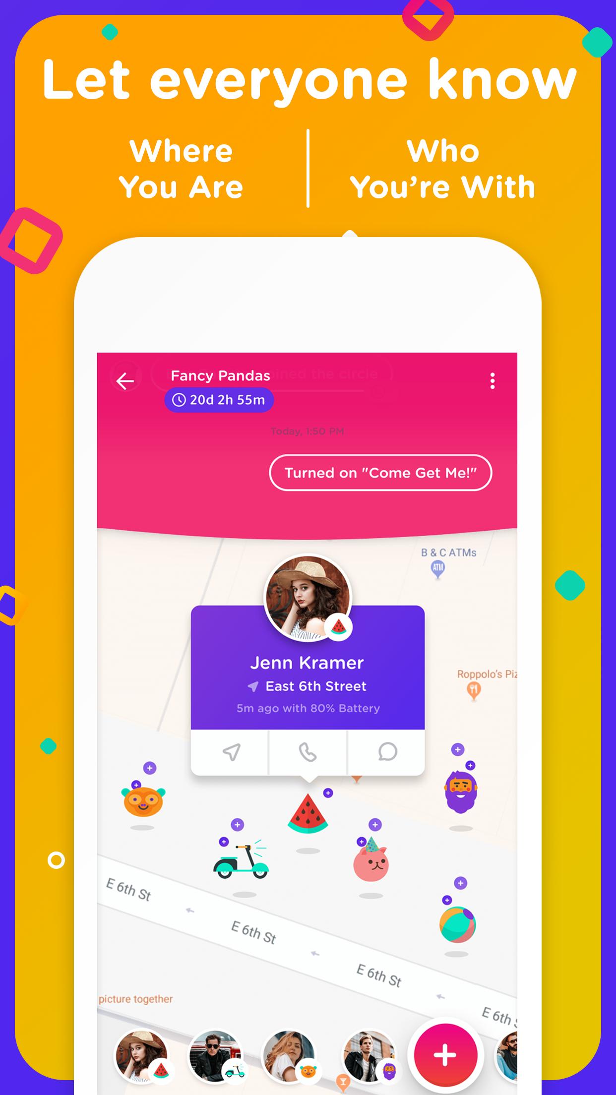 جديد التطبيقات: bthere يجمع بين مشاركة الموقع والدردشة مع الأصدقاء