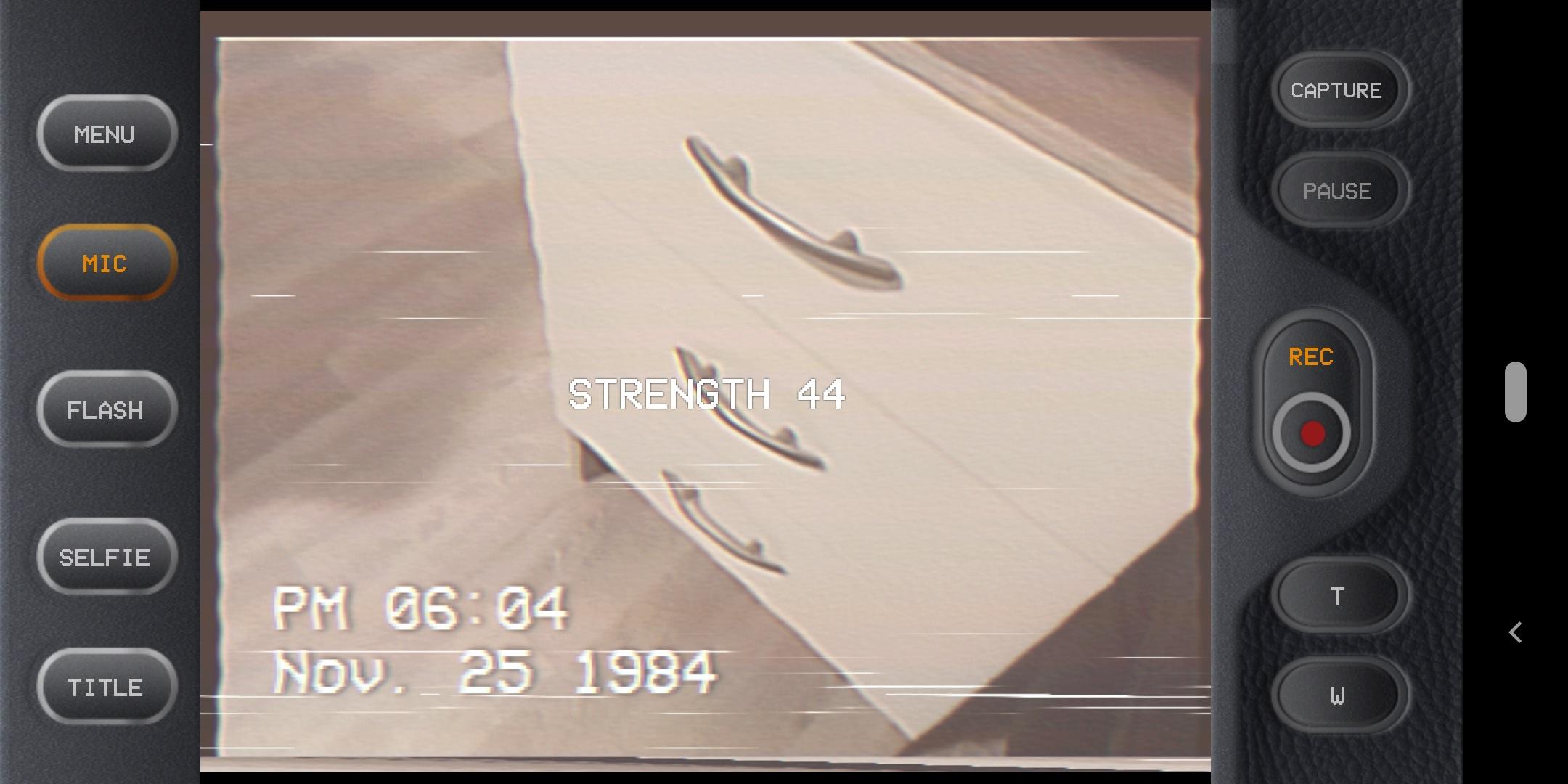 جديد التطبيقات: 1984 Cam لالتقاط مقاطع فيديو بالصبغة القديمة