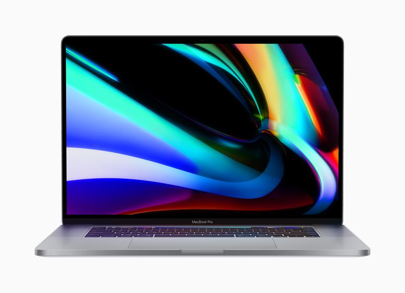 """آبل تقدم جهاز ماك بوك برو """"MacBook Pro"""" جديد بقياس 16 بوصة"""