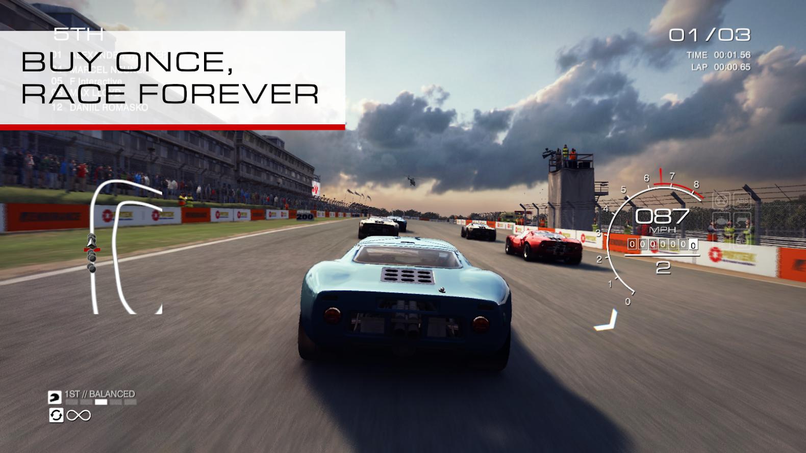 أخيرًا لعبة GRID Autosport تصل متجر جوجل بلاي