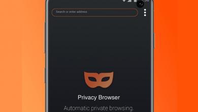 جديد التطبيقات: Privacy Browser متصفّح يأتي بالتصفّح الخاص افتراضيًا على أندرويد