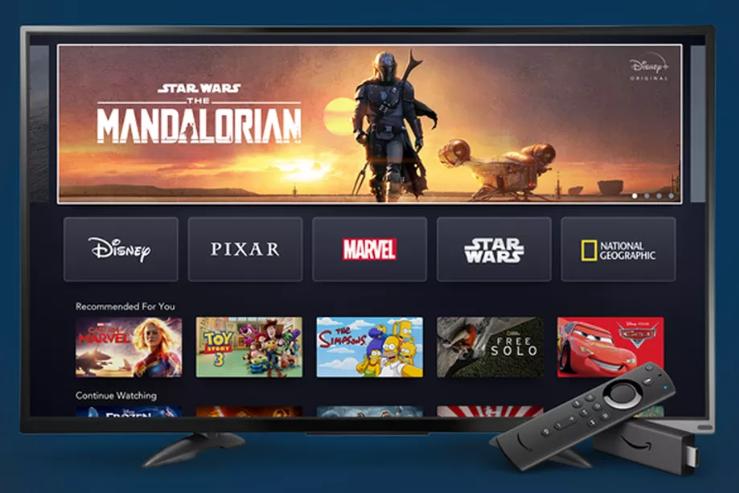 ديزني بلس ستدعم أمازون Fire TV وستتوفر في بريطانيا وعدة دول بداية من 31 مارس