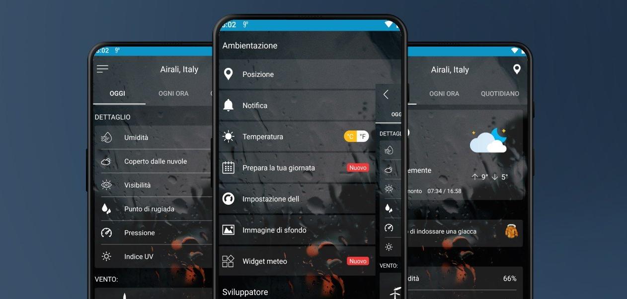 يُظهر تطبيق Weather ForeCast 2020 الجديد توقعات الطقس مع رسومات جميلة
