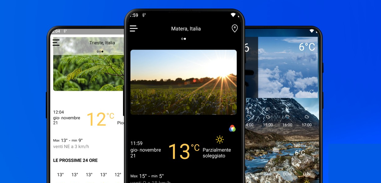 Weather: أحد تطبيقات الطقس الجديدة على متجر جوجل بلاي