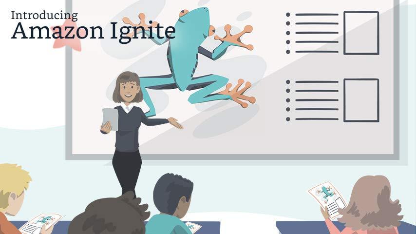 أمازون تطلق منصة Amazon Ignite لمساعدة المدرسين على بيع المواد التي يعدونها