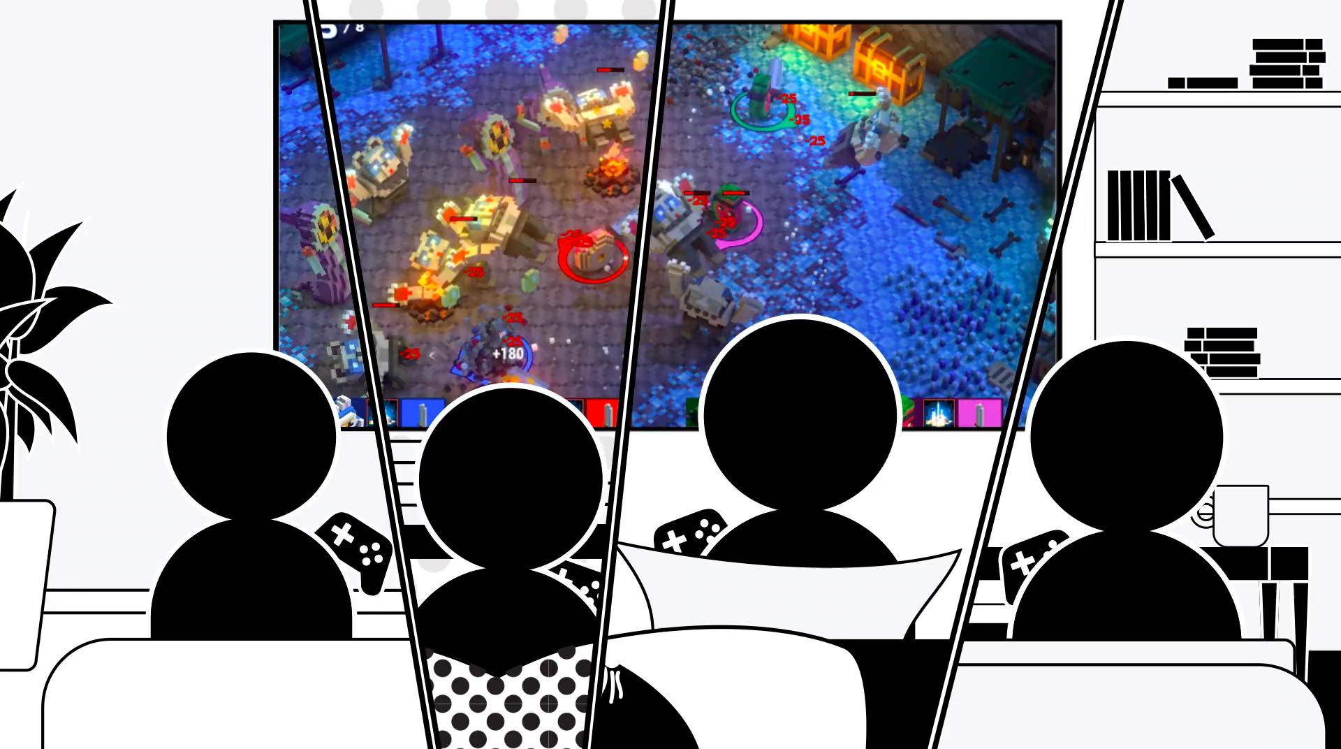 تُتيح لك خدمة Steam الآن لعب ألعاب متعددة اللاعبين على الإنترنت عن بُعد