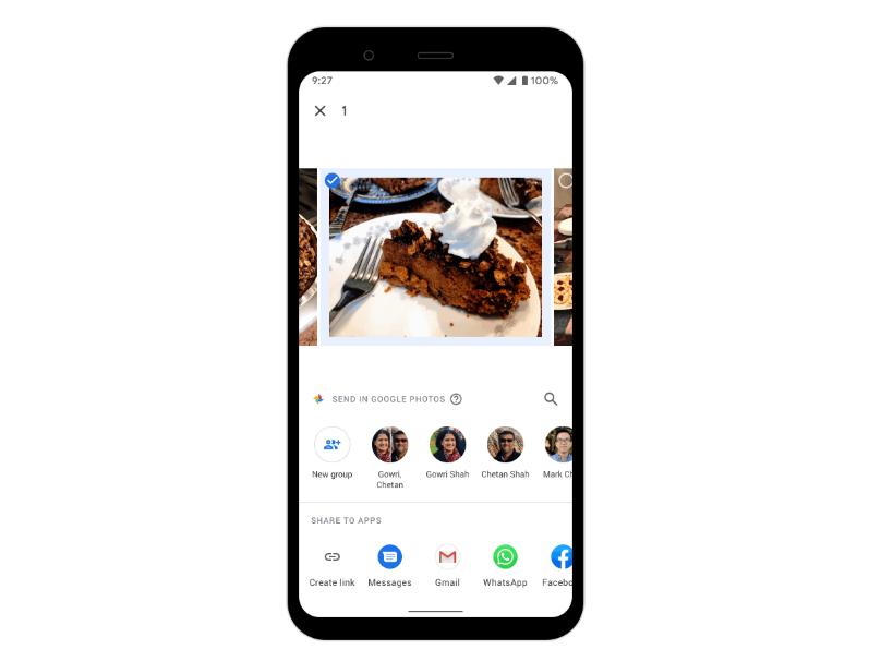 صور غوغل تُطلق خاصية الرسائل الخاصة لمشاركة الصور بسرعة