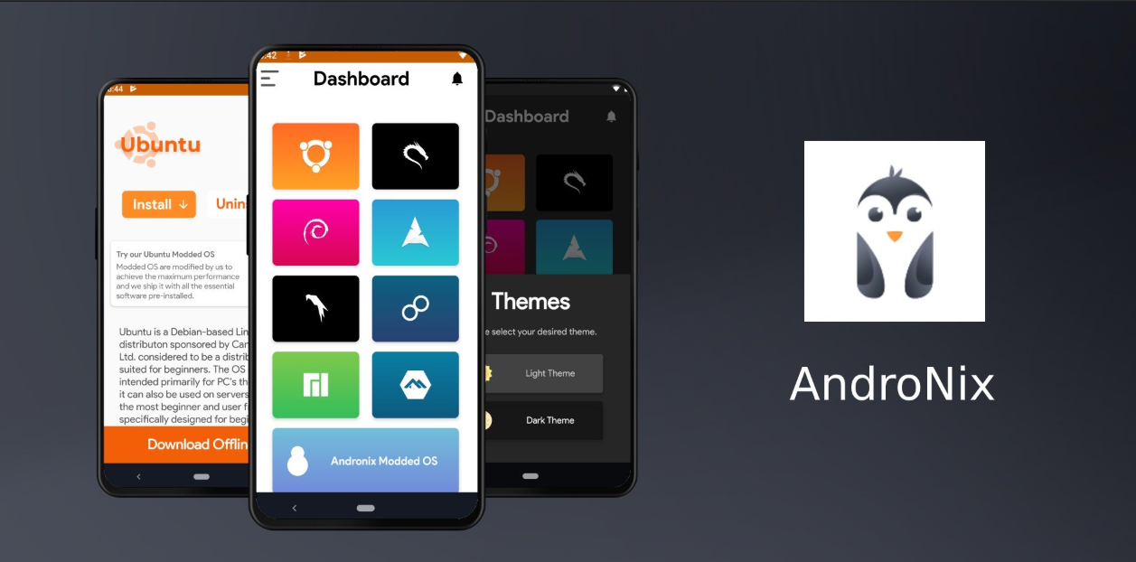 جدبد التطبيقات: AndroNix لتثبيت لينكس على أندرويد وبدون روت