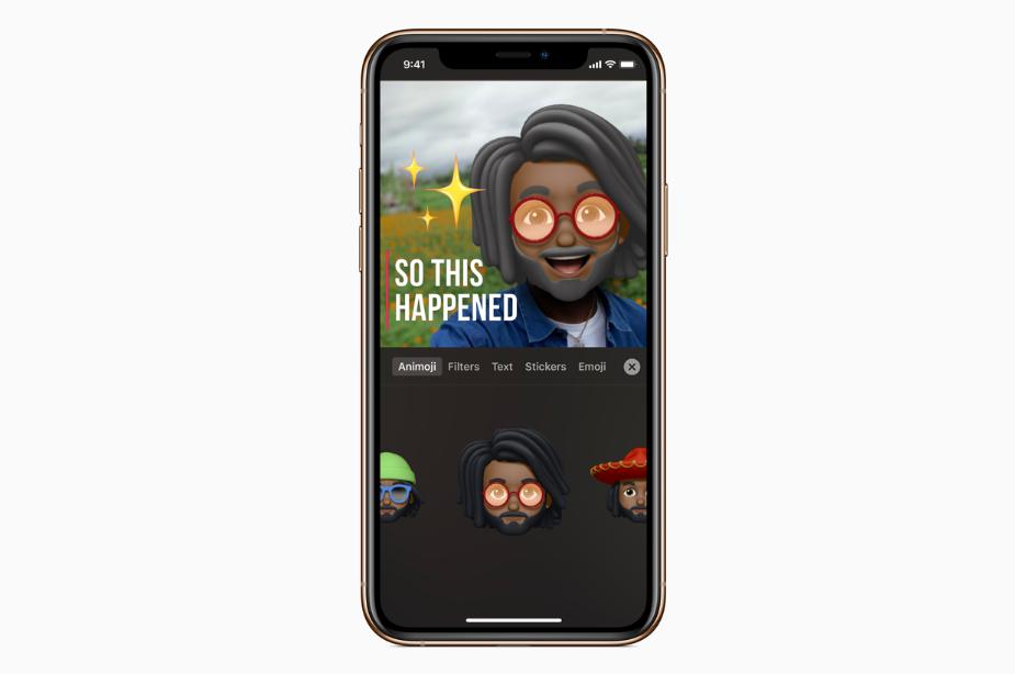 تطبيق Clips من آبل يدعم اللغة العربية وإنشاء شخصيات Memoji و Animoji وأكثر
