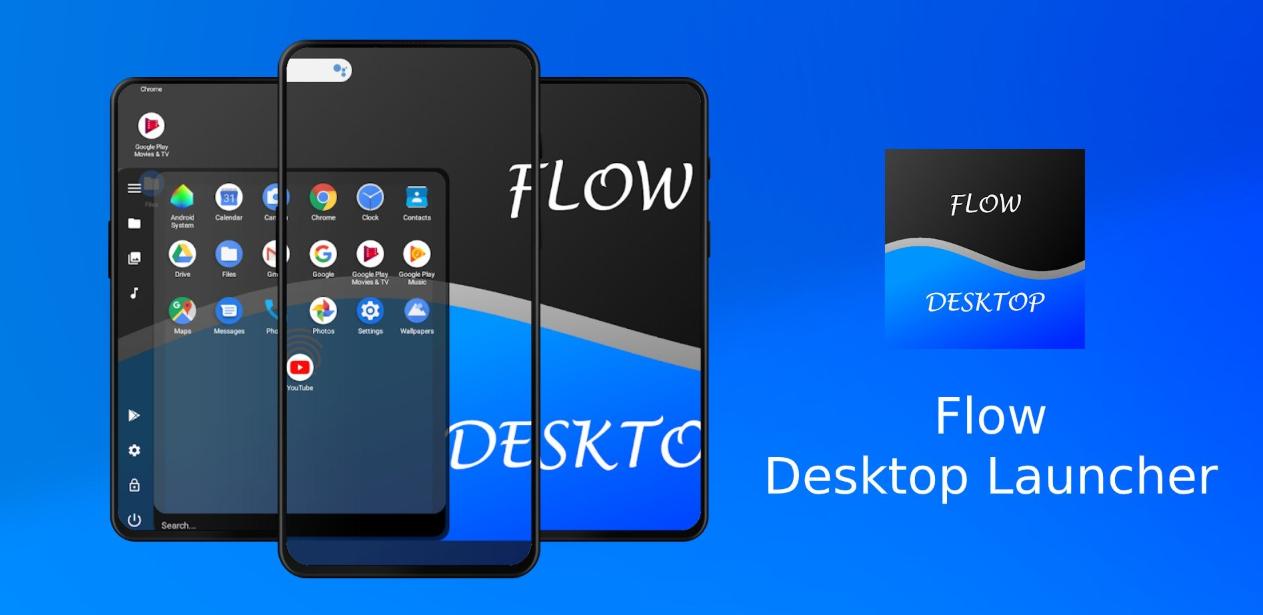 يعمل لانشر Flow Desktop الجديد على تحسين وضع سطح المكتب الخاص بأندرويد 10