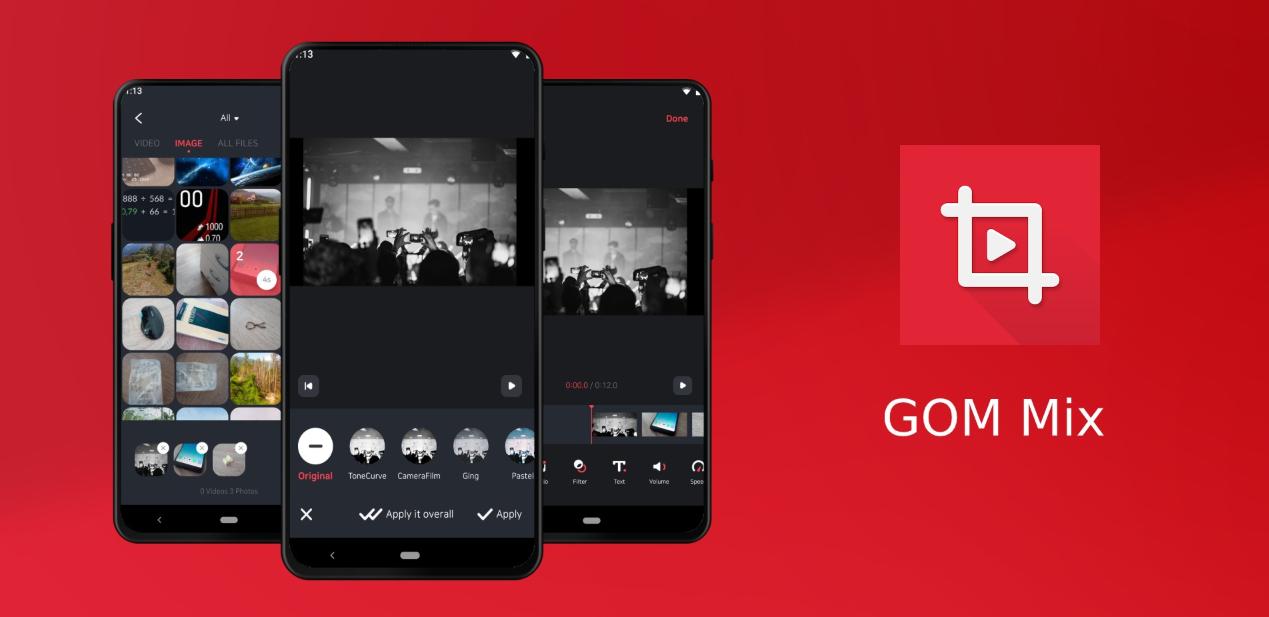 موقع GOM Mix يُطلق تطبيقه الخاص لتحرير الفيديو على أندرويد