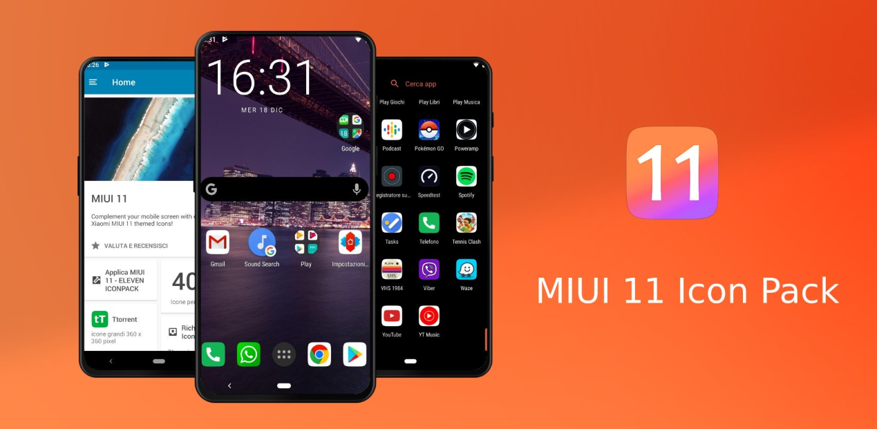 جديد التطبيقات: MIUI 11 Icon Pack القادم بأكثر من 4000 أيقونة مستوحاة من واجهة MIUI 11