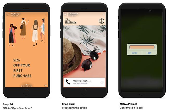 سناب شات تطلق ميزة Swipe Up to Call حصريًا للمستخدمين في الشرق الأوسط