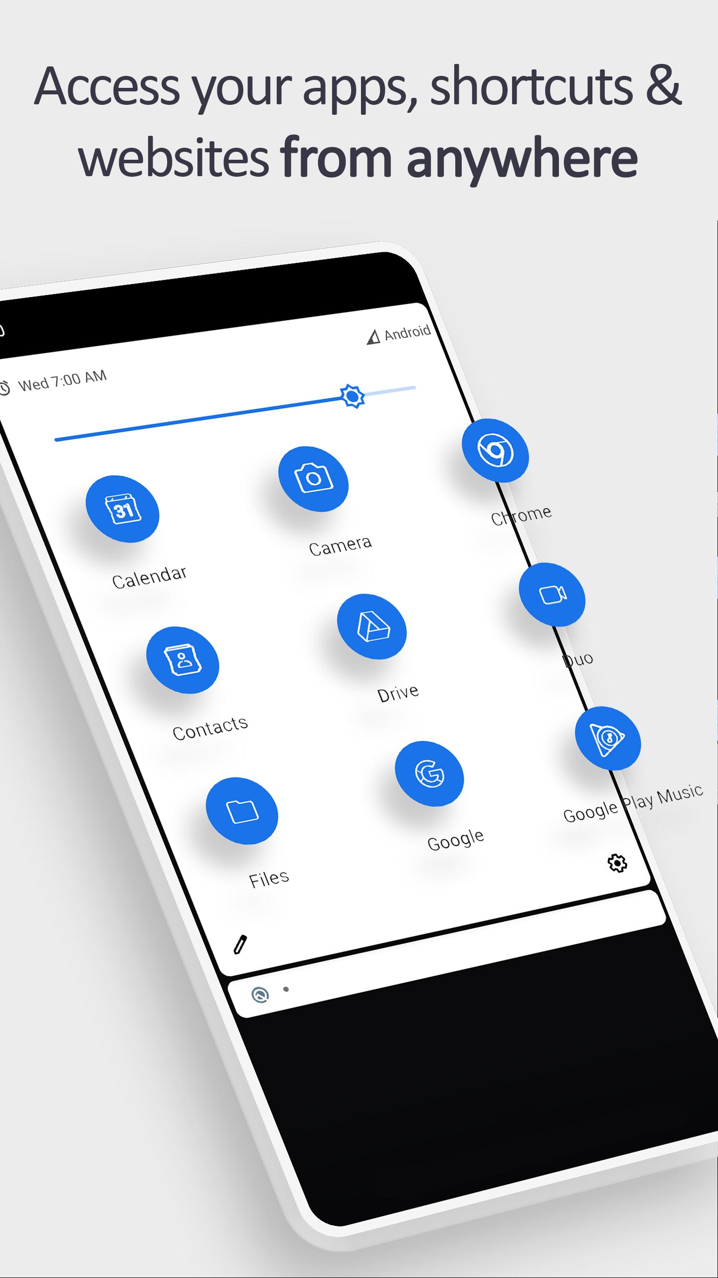 Tile Shortcuts : تطبيق جديد لتخصيص لوحة الإعدادات السريعة في أندرويد