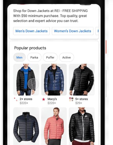 جوجل تحسّن البحث عن الملابس للتسوق عبر محرك البحث - عالم التقنية