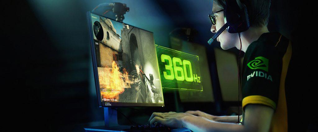 إنفيديا تعلن عن إطلاق شاشات G-SYNC جديدة