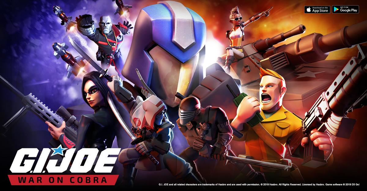 اللعبة الاستراتيجية G.I. Joe: War On Cobra متاحة الآن ورسميًا على أندرويد و iOS