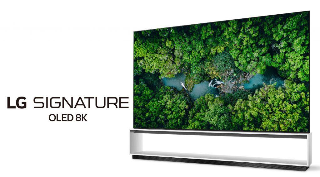 إل جي ستطرح 8 أجهزة تلفاز بدقة 8K مع شاشات OLED و LCD