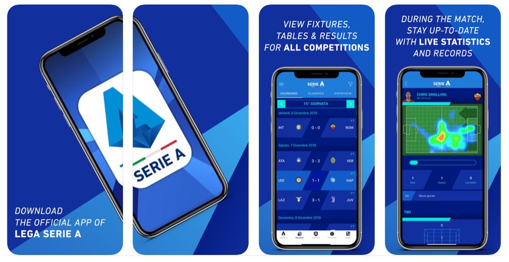 إطلاق التطبيق الرسمي Lega Serie A لمتابعة جميع مباريات كرة القدم الإيطالية