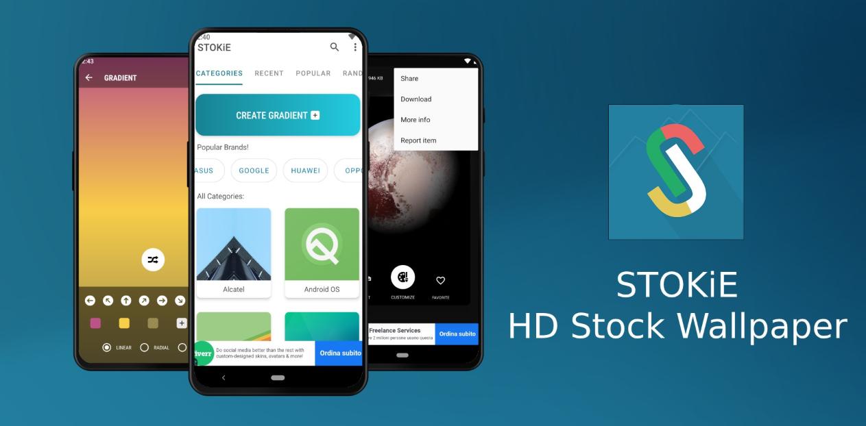 """يُقدّم تطبيقSTOKiE الجديد مجموعة كبيرة من خلفيات """"أندرويد ستوك"""" وبدقة عالية"""