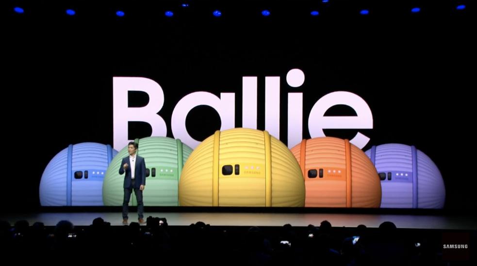 """CES 2020: سامسونج تكشف عن الروبوت الكرة """"Ballie"""" للتحكم بالمنازل الذكية"""
