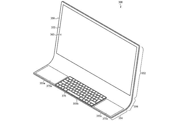 شركة آبل تسجل براءة إختراع لجهاز Mac زجاجي متكامل