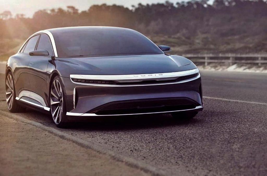 لوسيد موتورز تكشف عن سيارتها الكهربائية الأولى في أبريل