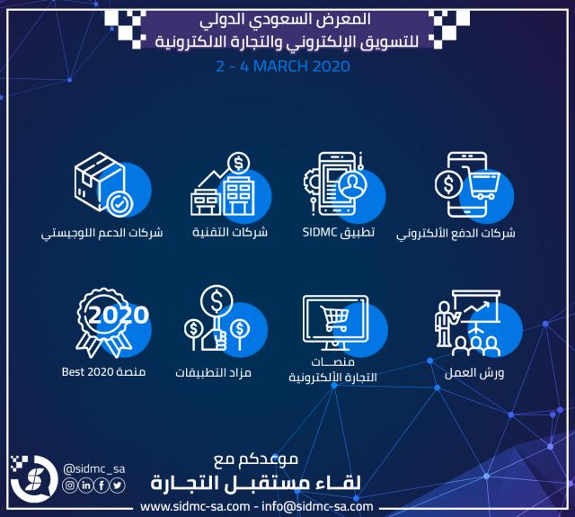 ملتقى التجارة الإلكترونية والتسويق الإلكتروني الأكبر في المملكة العربية السعودية ينطلق قريبًا