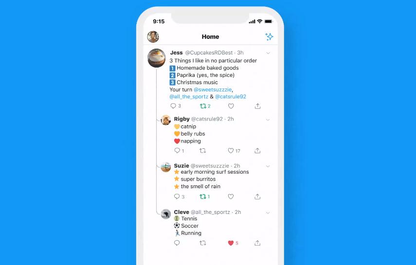 تويتر تُحدّث تطبيقها على iOS بدعمها الردود المتسلسلة والمفيدة حقًا