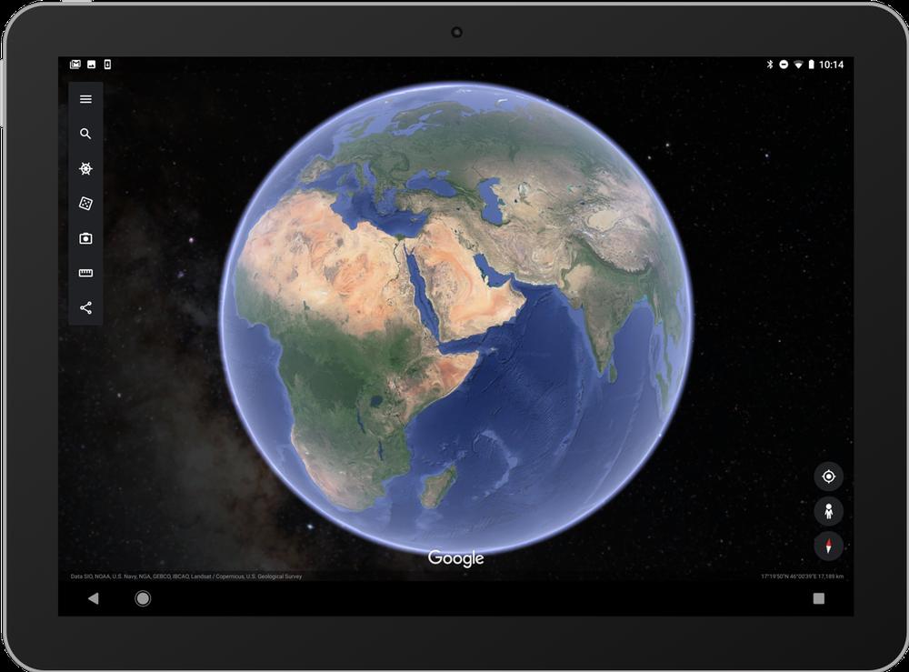 يتيح لك الآن تطبيق جوجل إيرث رؤية السماء المُرصّعة بالنجوم