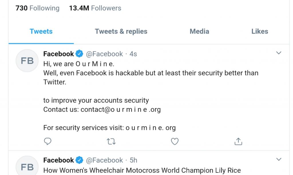 اختراق حسابات فيس بوك على تويتر و انستجرام