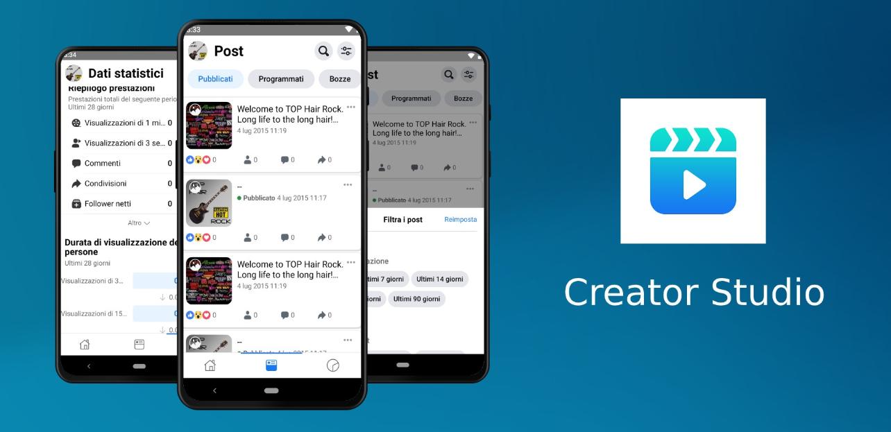فيس بوك تُطلق خدمتها Creator Studio كتطبيق مستقل على أندرويد و iOS