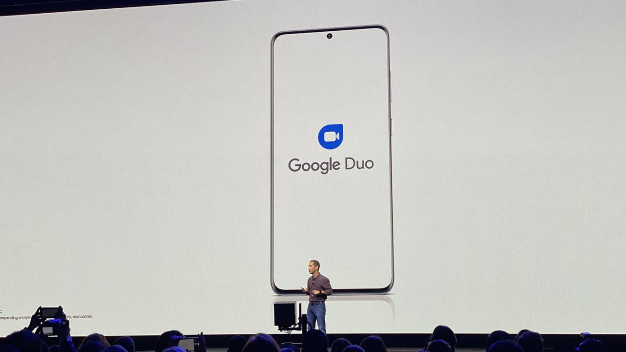رسميًا تطبيق Duo يتكامل مع تطبيق الهاتف في جالكسي S20