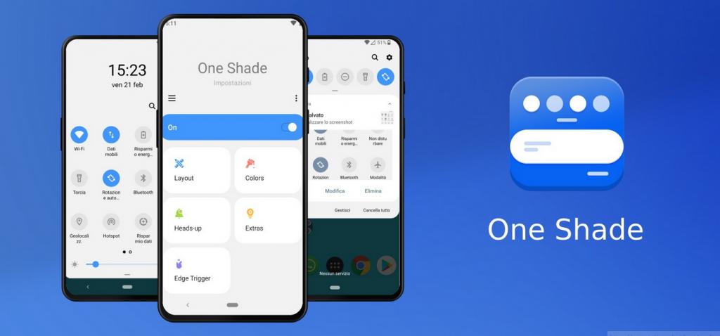 جديد التطبيقات: One Shade لتحسين لوحتي الإشعارات والإعدادات السريعة